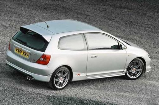 Prelungire fusta spoiler bara spate Honda Civic 3d 2001 2004