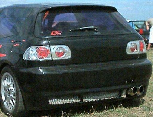 Prelungire fusta spoiler bara spate Honda Civic 3d 1992 1995