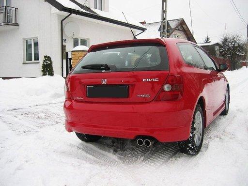 Prelungire fusta spoiler bara spate Honda Civic 3d 2001 2006