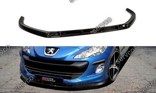 Prelungire splitter bara fata Peugeot 308 T7 2008-2011 v1