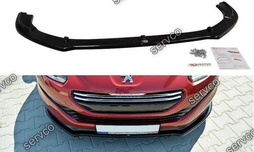 Prelungire splitter bara fata Peugeot RCZ 2009-2012 v4