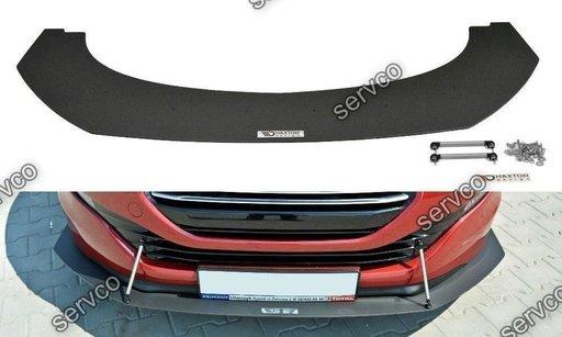 Prelungire splitter bara fata Peugeot RCZ Facelift 2012-2015 v3