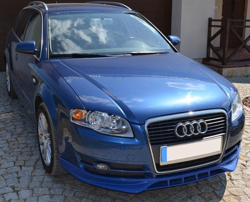 Prelungire spoiler bara fata Audi A4 B7 2004 - 2007 Sline S Line ver.2