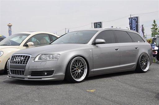 Prelungire spoiler bara fata Audi A6 C6 4F Votex Sline S6 RS6 2004 2005 2006 2007 2008 ver. 2
