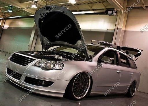 Prelungire spoiler bara fata Volkswagen VW Passat B6 3C Votex ver2