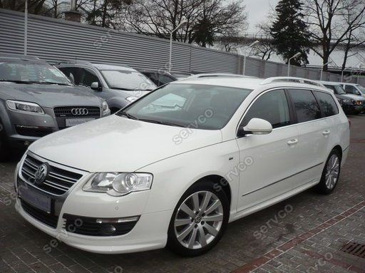 Prelungire spoiler bara fata Volkswagen VW Passat B6 3C R line ver1