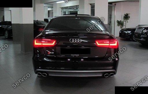 Prelungire spoiler difuzor bara spate Audi A6 4G C7 ver3