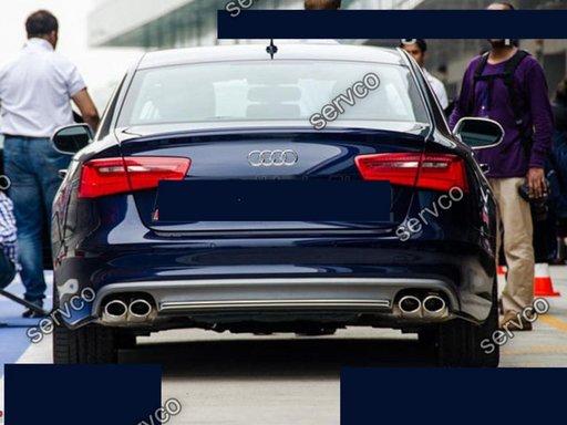 Prelungire spoiler difuzor bara spate Audi A6 4G C7