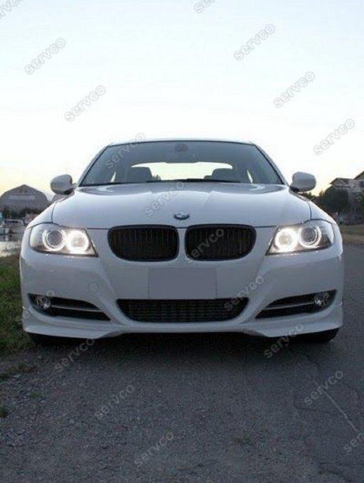 Prelunigre difuzor extensie lip buza bara fata BMW E91 pachet M 2005-2008 v2