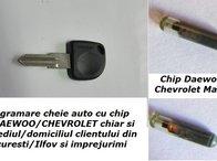Programare chei auto cu chip Daewoo Chevrolet