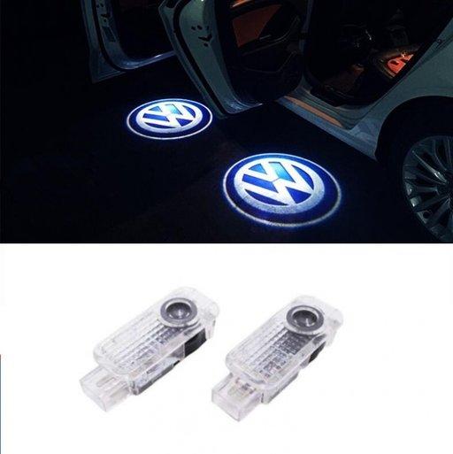 Proiectoare Holograma Led Dedicate VW Passat B5, B5.5 , Phaeton, Touareg