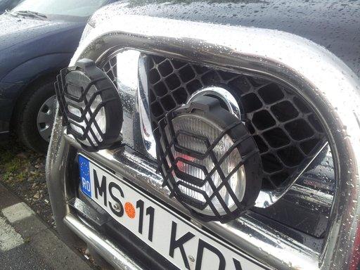 Proiectoare wessem jeep rotunde cu grilaj de protectie