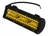 Proiector 80 LED-uri COMBO 240W, 12-24V lumina galbena