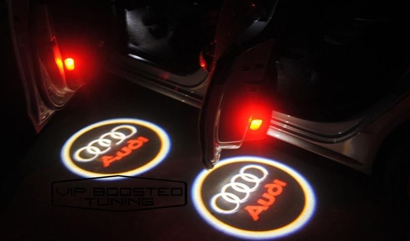 PROMO! AUDI LED LOGO PORTIERE - SET LAMPI 99 LEI