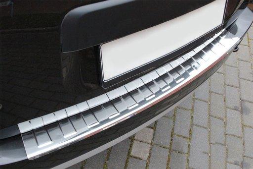 Protectie din inox bara spate Dacia Duster 2010->