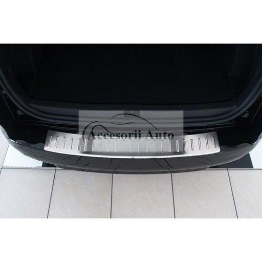 Protectie din inox bara spate VW Passat B6 Combi 2