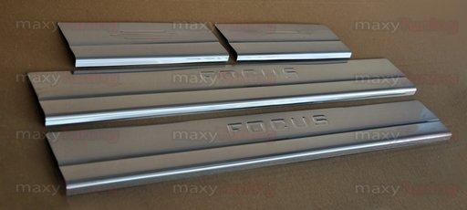 Protectii inox praguri Ford Focus MK2 2005-2008