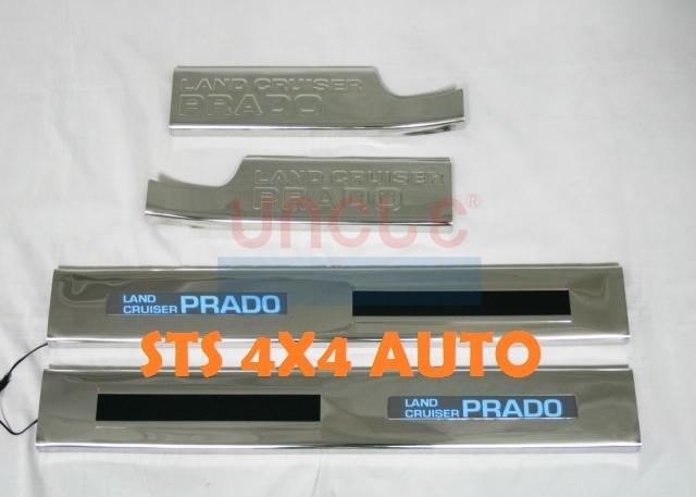 PROTECTII PRAG CU LED TOYOTA LAND CRUISER FJ150 PRADO 2010-2013