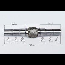 RACORD FLEXIBIL ADAPTABLE (B2) 45/48/55X400/100 MM