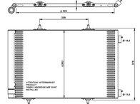 RADIATOR AC citroen c3 - produs nou