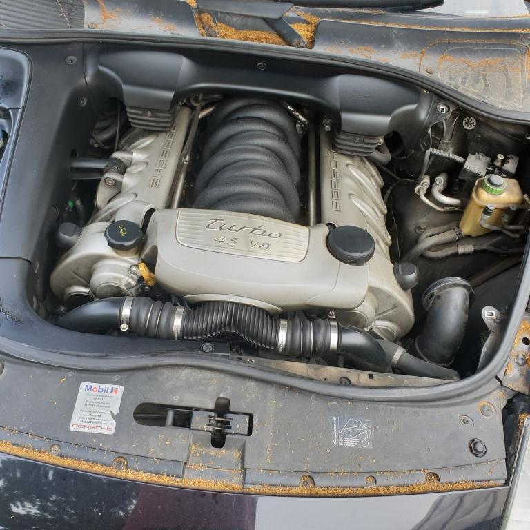 Radiator AC clima Porsche Cayenne 2004 Turbo S 331 kw 4.5