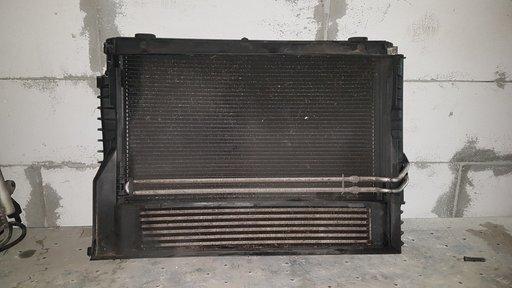 Radiator apa radiator ac intercooler electroventilator bmw e60 e61 pentru cutie autoamata