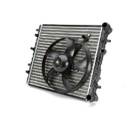 Radiator, racire motor VW POLO ( 9N ) 10/2001 - 01/2012 - producator THERMOTEC D7S005TT - 304804 - Piesa Noua