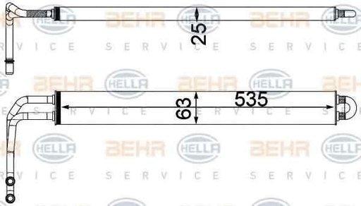 Radiator racire ulei sistem directie BMW 6 Gran Coupe F06 HELLA 8MO 376 750-781