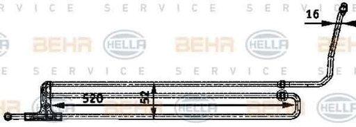 Radiator racire ulei sistem directie BMW 7 E65 E66 E67 HELLA 8MO 376 726-201
