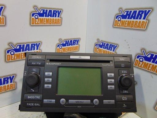 Radio CD 4M5T 18K931 CB FORD C-MAX +NAVIGATIE BLANKPUT TravelPilotEX