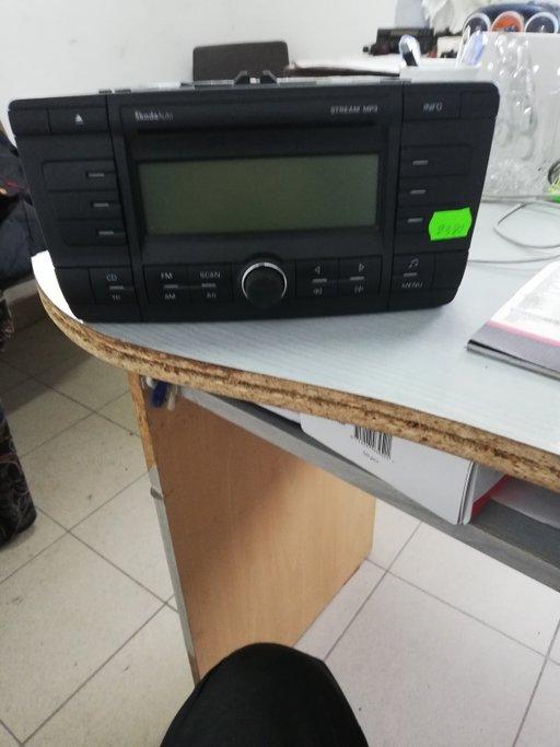 Radio cd skoda cod 1z0035161c