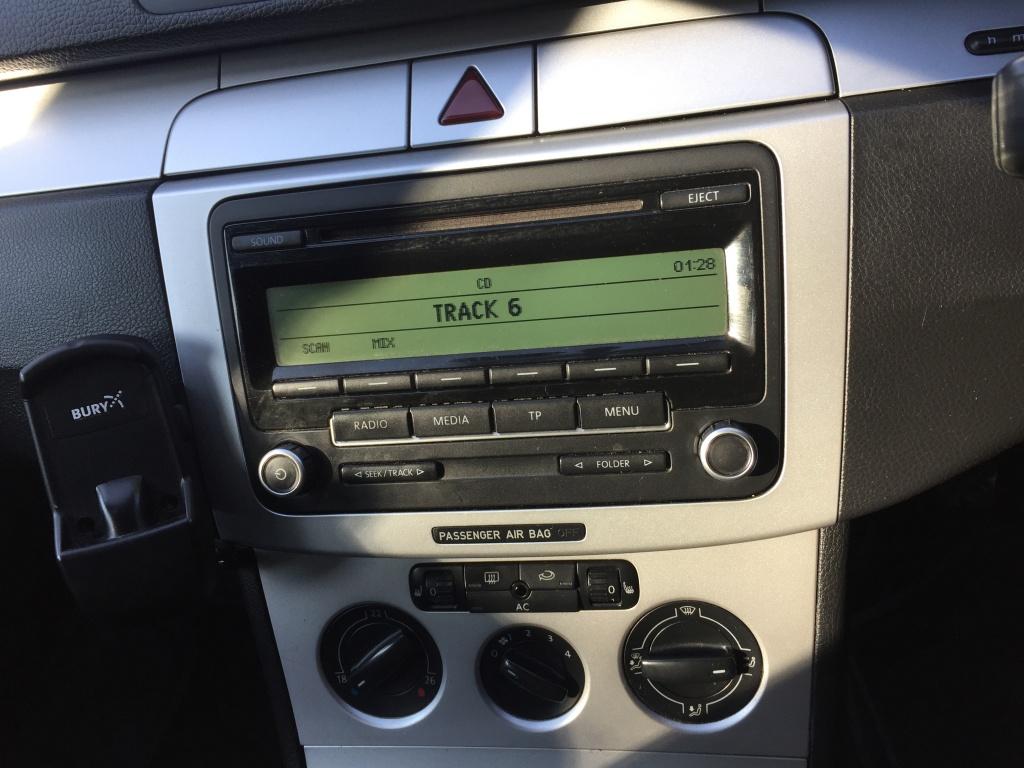 Góra Radio cd vw passat b6 b7 cc golf 5 6 touran jetta - #1725236008 TN48