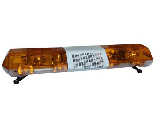 Rampa girofar plafon 12V lumina portocalie