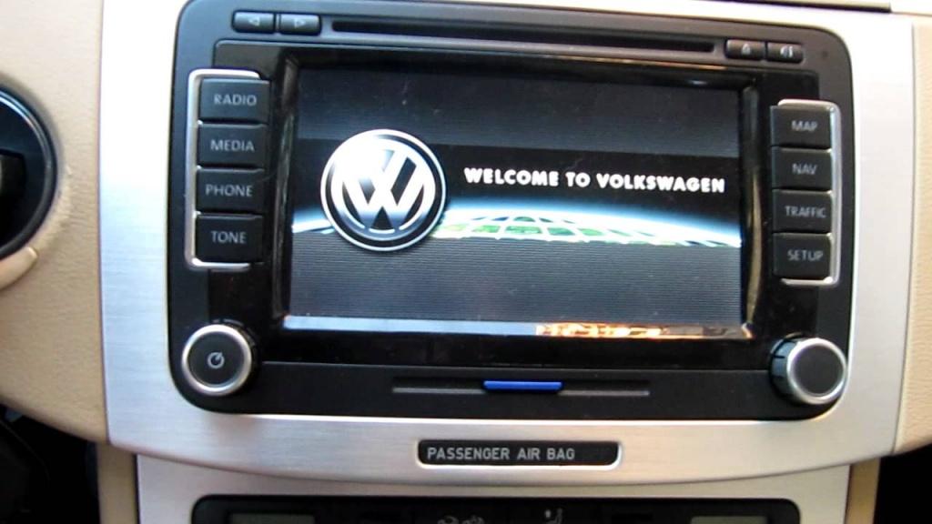RNS 510 (VW Seat Skoda) Harti 2018 Video in motion Update firmware