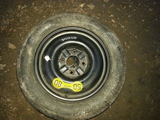 Roata rezerva Slim Volvo S40 V40 R15 4X114,3