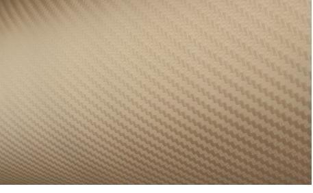 Rola folie carbon 3D aurie latime 1.27m x 30m