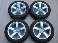 Roti Iarna Noi 17 inch Originale Audi A4 A5 A6 TT 8T 8W Dunlop 225/50 R17 98H