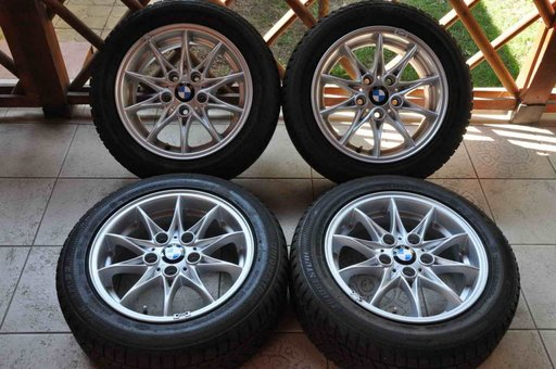 Roti Iarna Originale BMW 16 inch Seria 1 3 E81 E87 E36 E46 Z3 Z4 E85