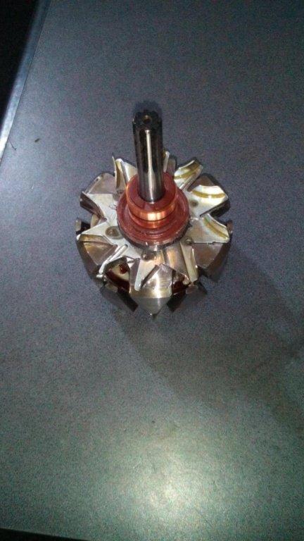 Rotor alternator Hitachi Opel 1.7 diesel