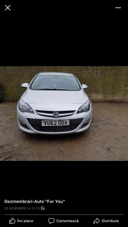 Rulment cu butuc roata fata Opel Astra J 2012 Hatchback 1.7