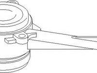 Rulment de presiune, ambreiaj VW SHARAN (7M8, 7M9, 7M6), FORD GALAXY (WGR), AUDI A3 (8L1) - TOPRAN 112 079