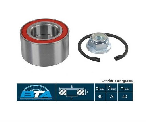 Rulment roata fata stg / dr pentry Vw , Audi , Seat , Skoda 74x40x40 mm -- 1J0498625