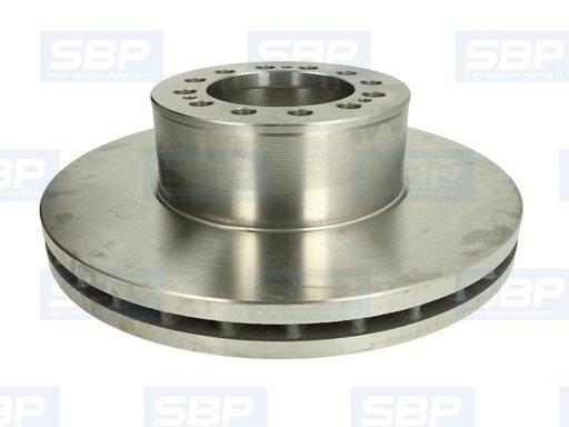 Sbp disc frana cu r432mm pt mann f2000, tga