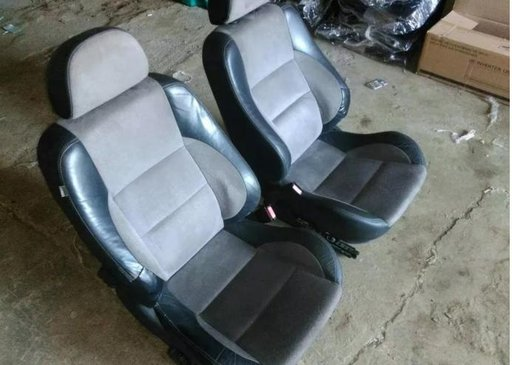 Scaune Rover 75 MG ZT tapiterie piele neagra intoa