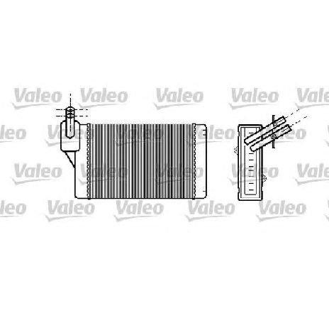Schimbator caldura, incalzire habitaclu VW CADDY II COMBI ( 9K9B ) 11/1995 - 01/2004 - producator VALEO 812030 - 305393 - Piesa Noua