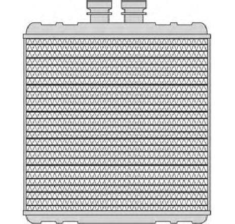 Schimbator caldura, incalzire habitaclu VW TIGUAN ( 5N ) 09/2007 - 2019 - piesa NOUA - producator MAGNETI MARELLI 350218240000 - 306397