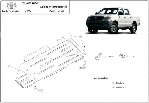Scut diferential Toyota Hilux pana in 2006