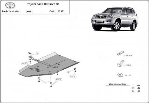 Scut diferential Toyota Land Cruiser