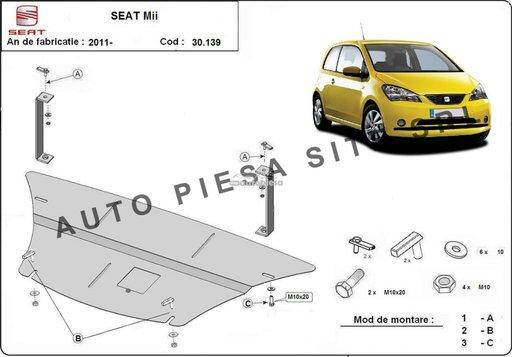 Scut metalic motor Seat Mii fabricat incepand cu 2011 APS-30,139 - piesa NOUA