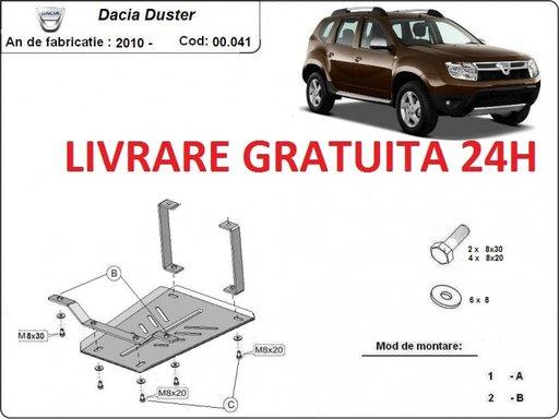 Scut metalic otel 2 mm diferential Dacia Duster 2013 - prezent COD: 00.041UJ